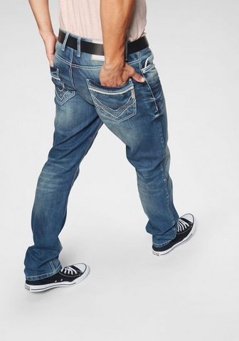 CIPO & BAXX Cipo & Baxx džinsai su 5 kišenėmis »Pi...