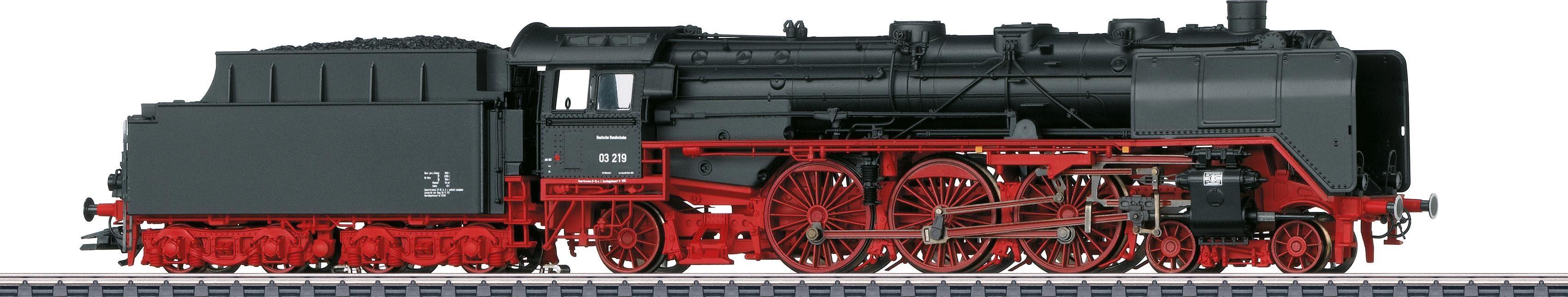 Märklin Personenzug-Dampflokomotive mit Schlepptender, »BR 03 219 Altbau DB«