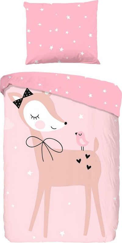 Kinderbettwäsche In Rosa Online Kaufen Otto