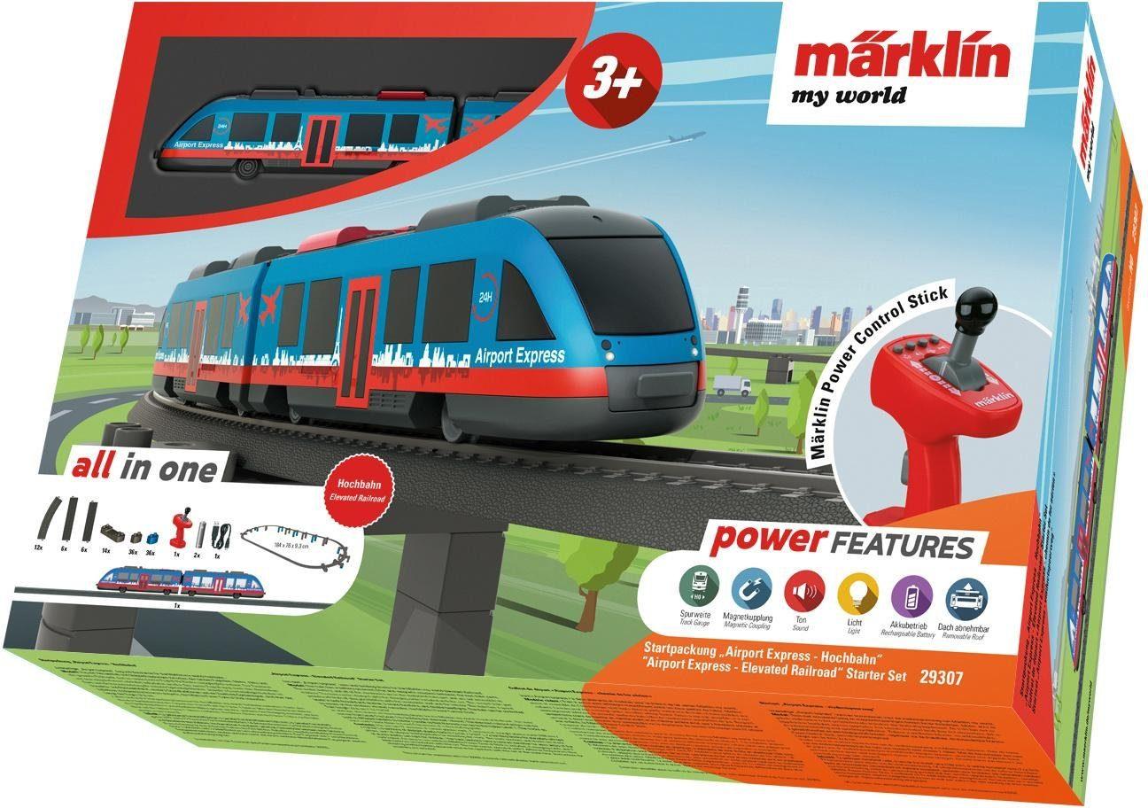 Märklin Spielzeugeisenbahn Startpackung, »Märklin my world, Airport Express Hochbahn - 29307«