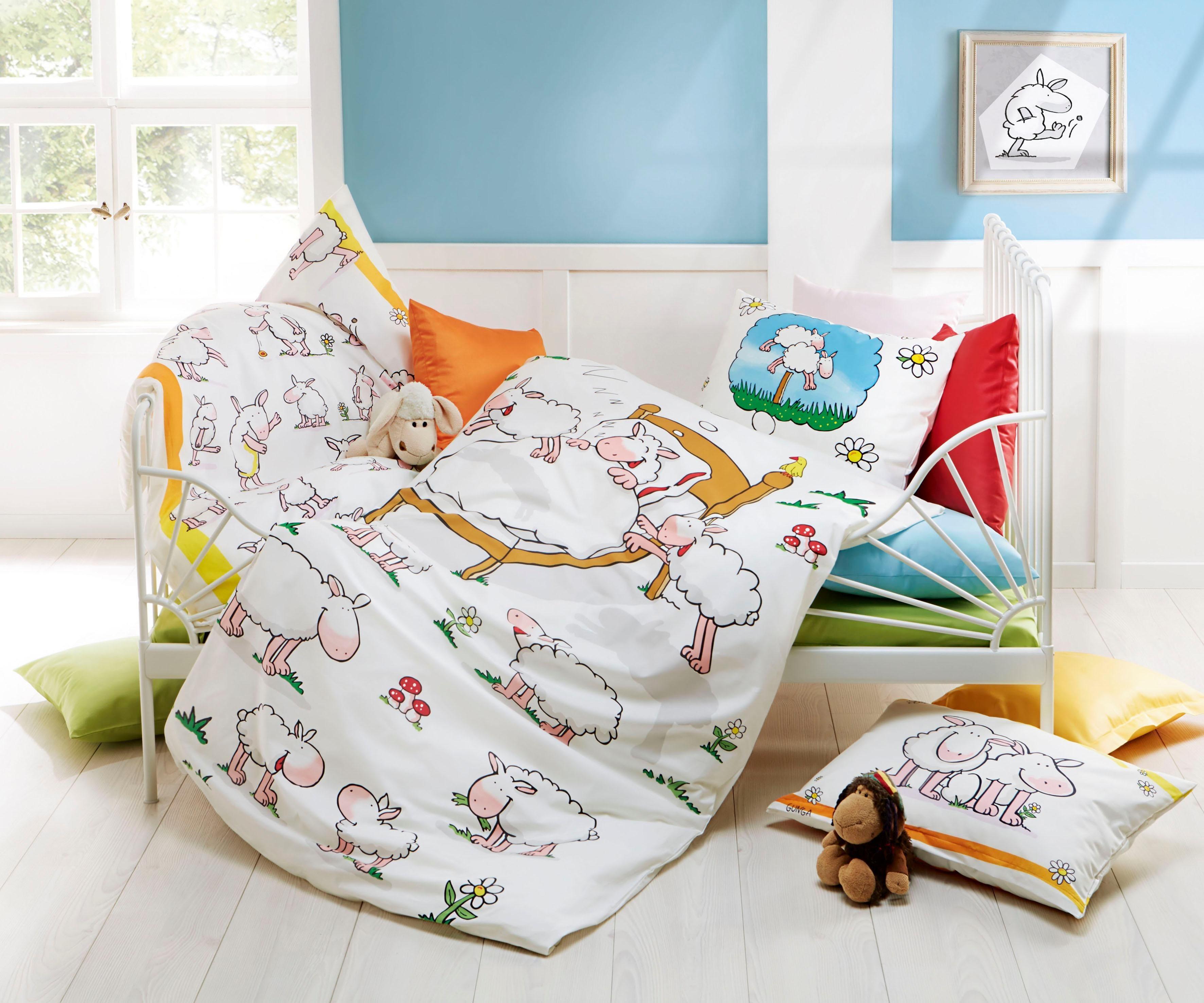 kinderbettw sche preisvergleich die besten angebote online kaufen. Black Bedroom Furniture Sets. Home Design Ideas
