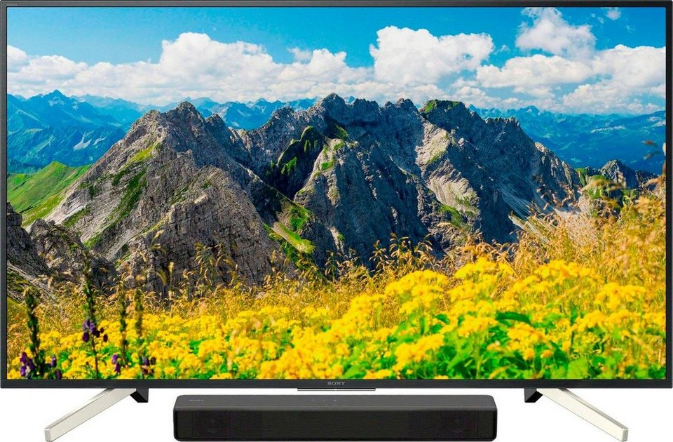 sony kd 55xf7596 led fernseher 138 cm 55 zoll 4k ultra. Black Bedroom Furniture Sets. Home Design Ideas