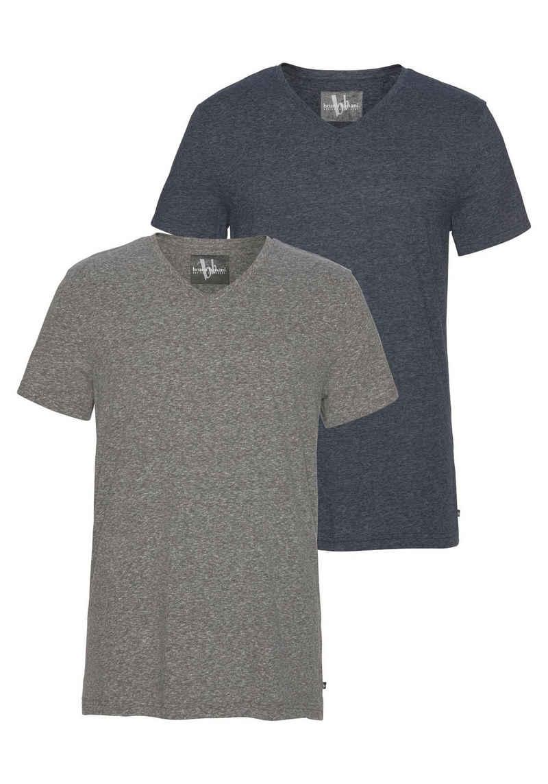 Bruno Banani T-Shirt (Packung, 2er-Pack)