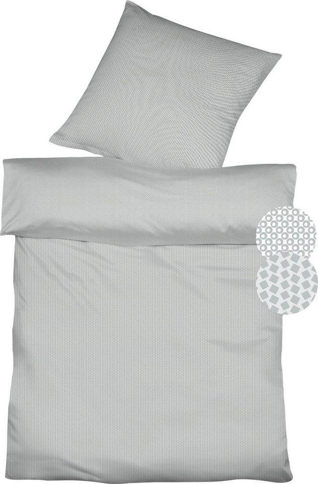 Wendebettwäsche »Topas Double«, fleuresse, mit unterschiedlichem Muster | Heimtextilien > Bettwäsche und Laken > Wendebettwäsche | fleuresse
