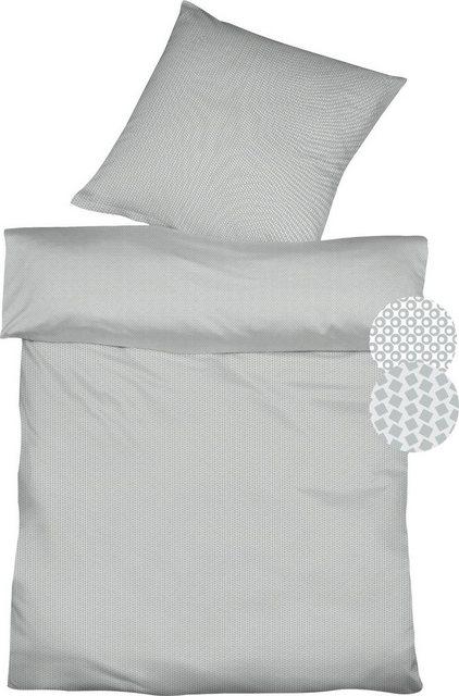 Wendebettwäsche »Topas Double«, fleuresse, mit unterschiedlichem Muster   Heimtextilien > Bettwäsche und Laken > Bettwäsche-Garnituren   Baumwolle   fleuresse