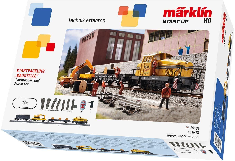 Märklin Eisenbahn-Startpackung, »Märklin Start up - Baustelle - 29184«