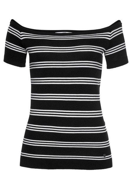 AJC Kurzarmpullover Off-Shoulder | Bekleidung > Pullover > Kurzarmpullover | AJC