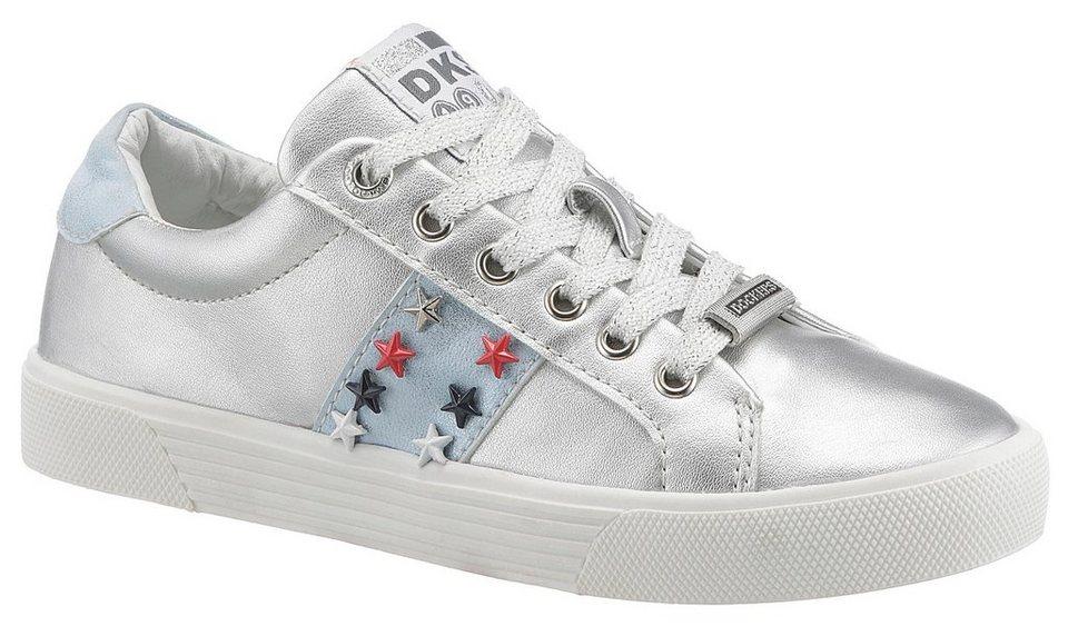 cfaffcc32d4a8c dockers-by-gerli-sneaker -mit-sternennieten-verziert-silberfarben.jpg  formatz