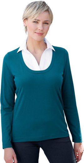 Casual Looks Shirt in 2-in-1-Optik