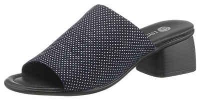 7b709df7cc Remonte Pantolette mit schönem Punktprint