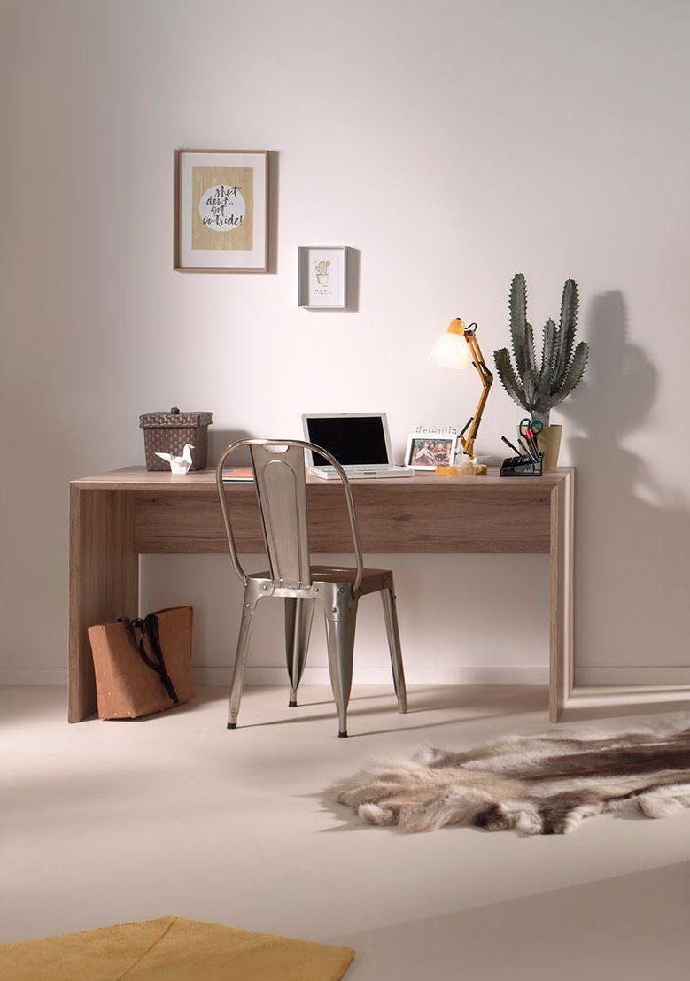 Vipack Schreibtisch »Emiel« mit Gehrungsschnitt