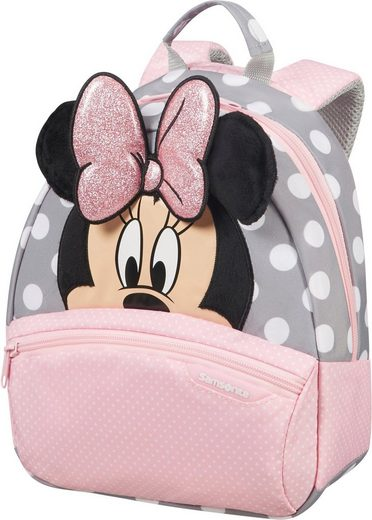 Samsonite Kinderrucksack »Disney Ultimate 2.0, S, Minnie Glitter«, 3D Optik