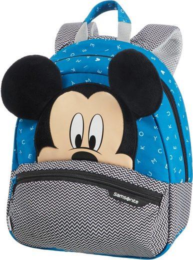 Samsonite Kinderrucksack »Disney Ultimate 2.0, S, Mickey Letters«, 3D Optik