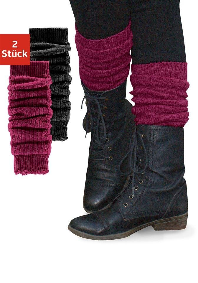 Sympatico Armstulpen und Beinstulpen | Accessoires > Stulpen > Beinstulpen | Rot | Jeans | Sympatico