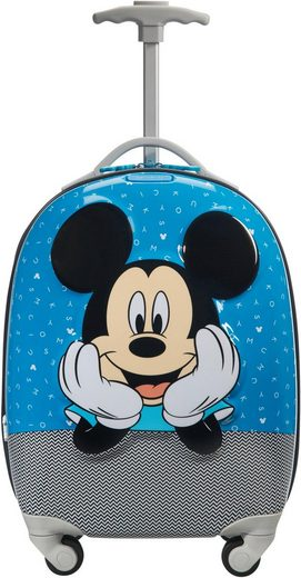 Samsonite Kinderkoffer »Disney Ultimate 2.0, Gr. 47 cm, Mickey Letters«, 4 Rollen, mit 4 Rollen