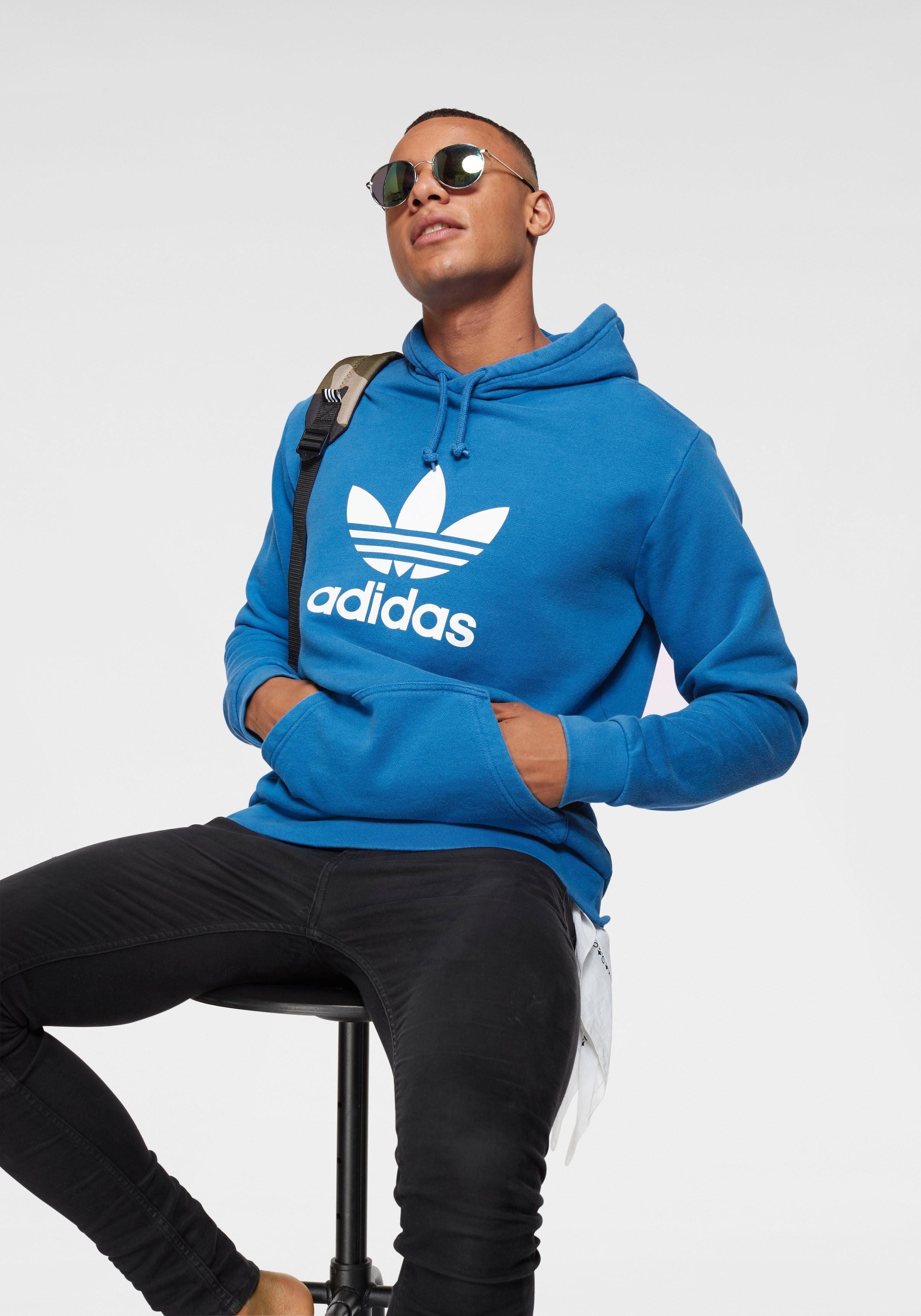 adidas Originals Kapuzensweatshirt »TREFOIL HOODIE«, Großer Logodruck vorn online kaufen | OTTO