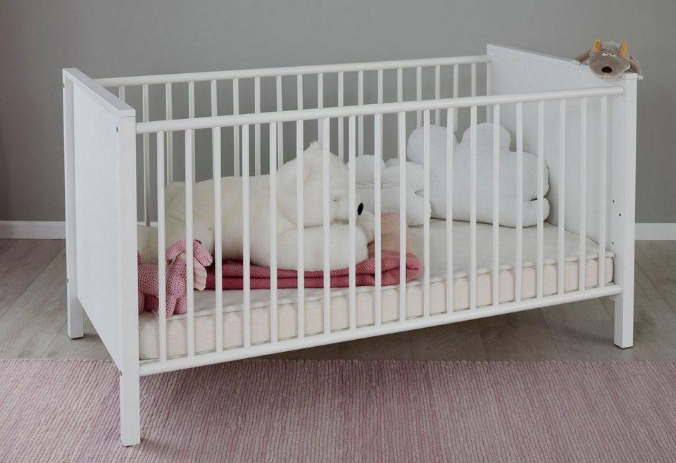 Kinderbett »westerland« in weiß online kaufen otto