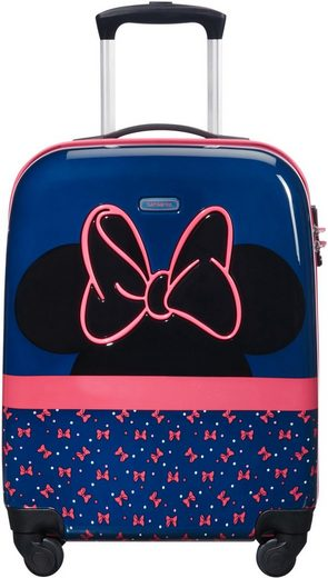 Samsonite Trolley »Disney Ultimate 2.0, Gr. 55 cm, Minnie Neon«, 4 Rollen