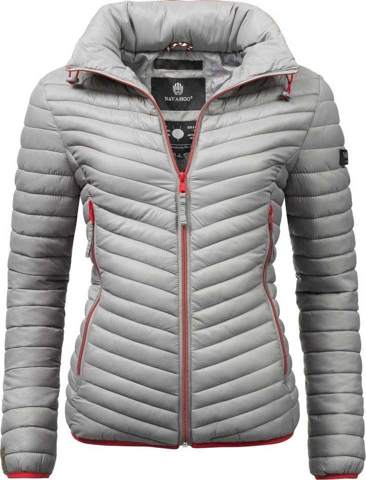 new styles aac14 26511 Navahoo Steppjacke »Pari« modische Damen Übergangsjacke mit Kapuze online  kaufen | OTTO