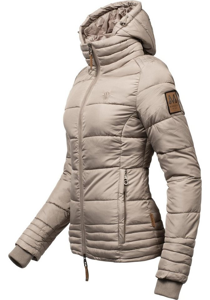 439cca3a6c3b05 Marikoo Winterjacke »Sole« modisch taillierte Damen Steppjacke für den  Winter