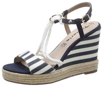 Tamaris »Cynara« Sandalette im maritimen Look
