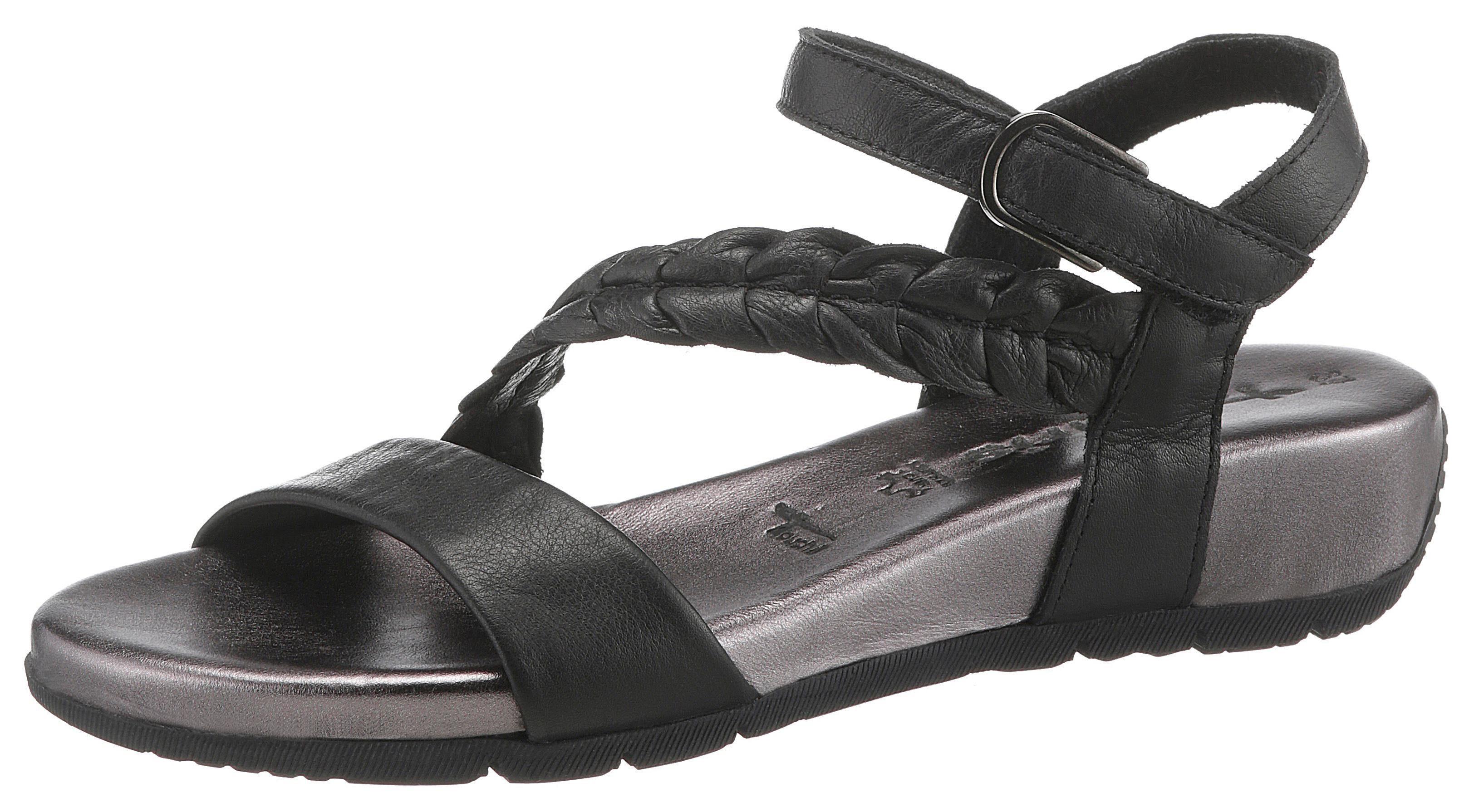 Tamaris »Miki« Sandalette mit hochgezogener Fersenkappe