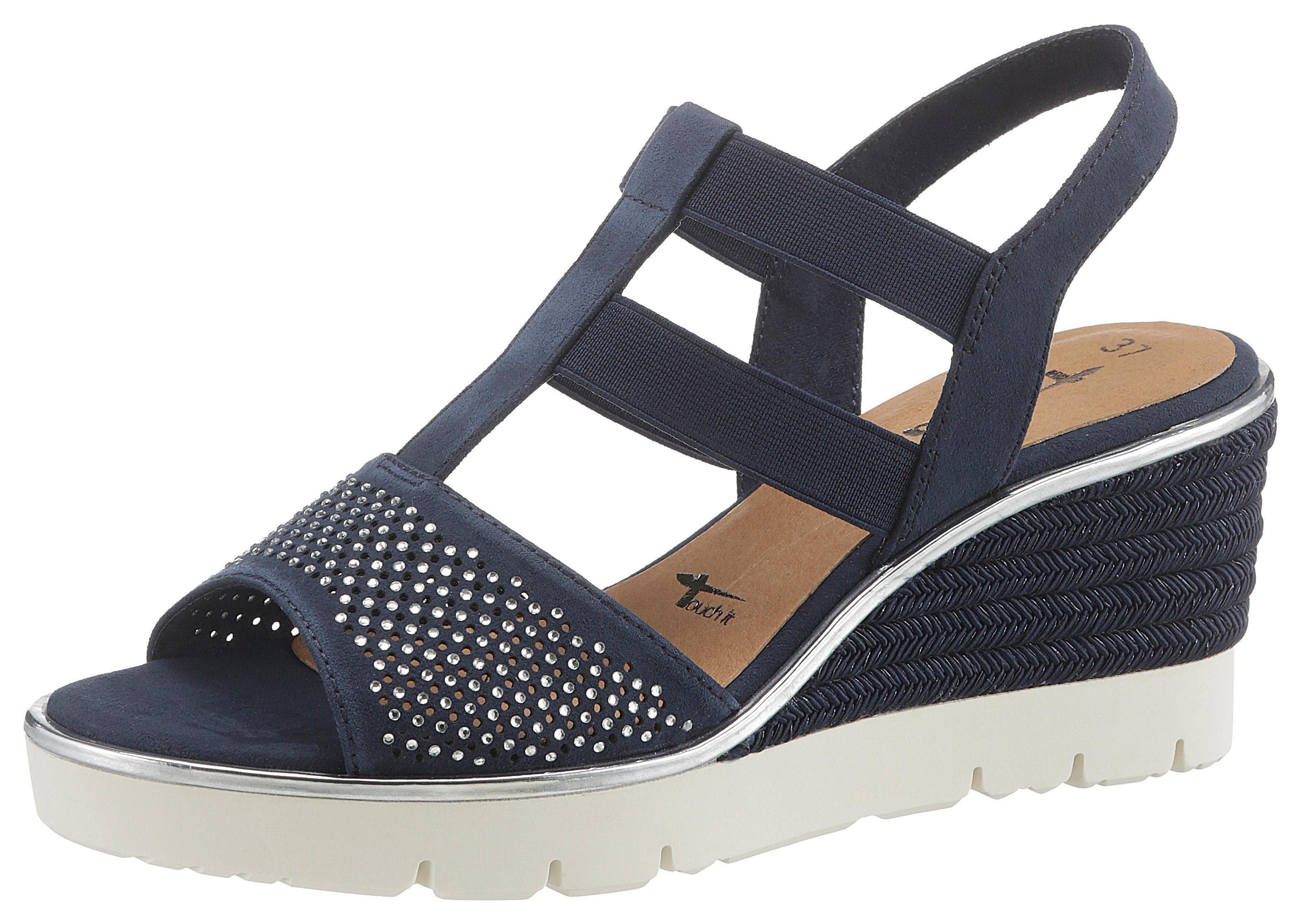 Tamaris »Cynara« Sandalette im maritimen Look | OTTO