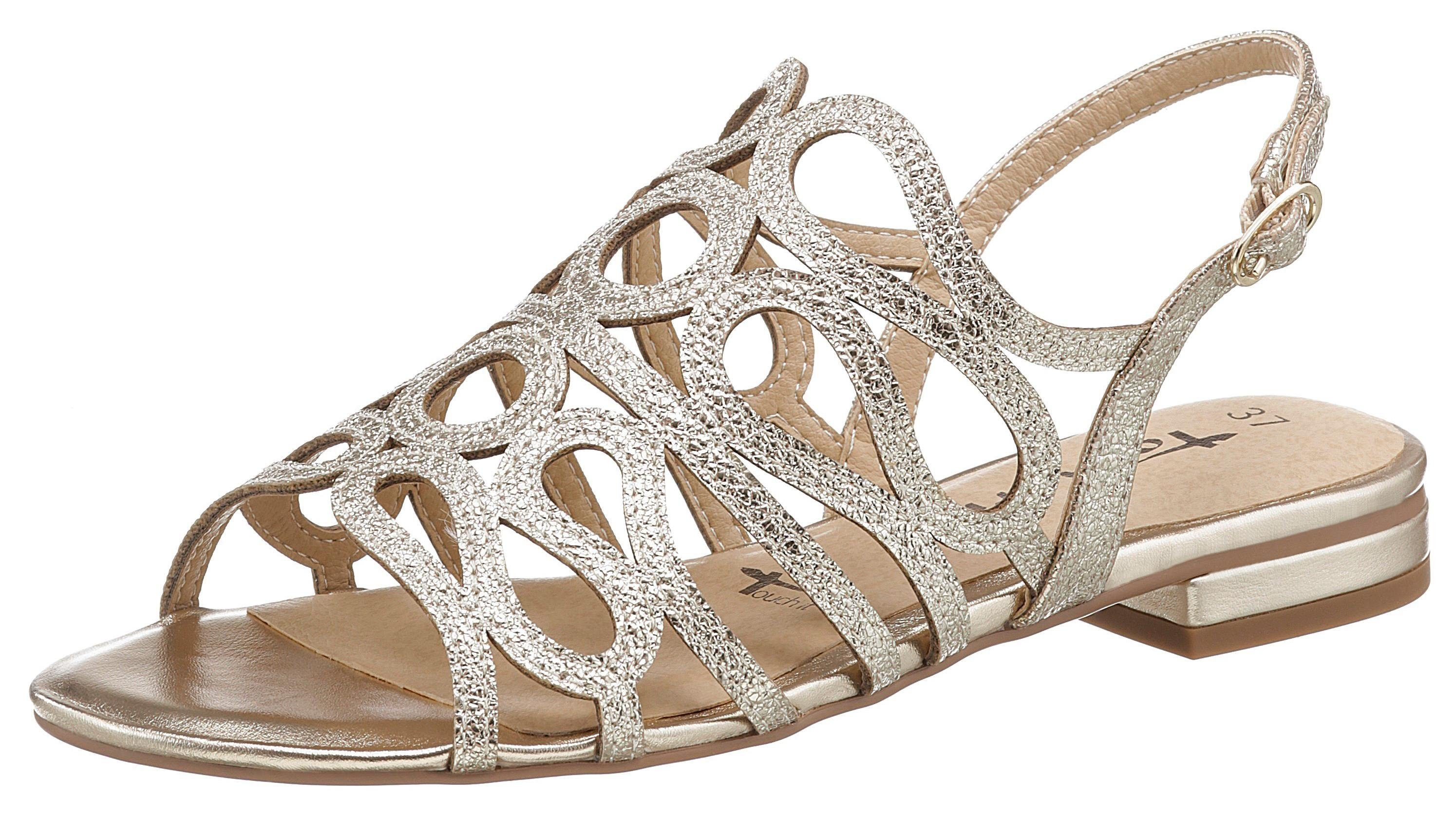 Tamaris »Ayn« Sandalette in Crinkle Optik kaufen   OTTO