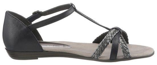 riemchen »verbena« Metallic Sandale Mit Tamaris 8fxIqXwq