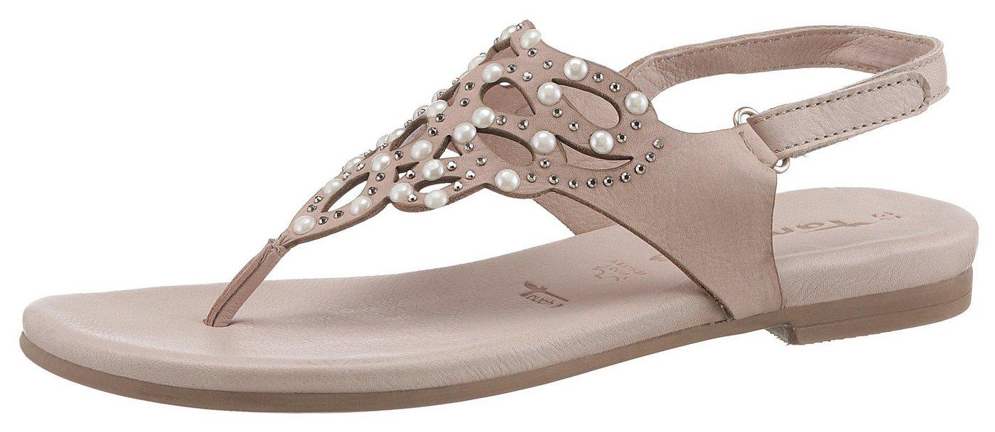 3a0ba239e601b6 Tamaris »Kim« Sandale mit aufwendiger Verzierung