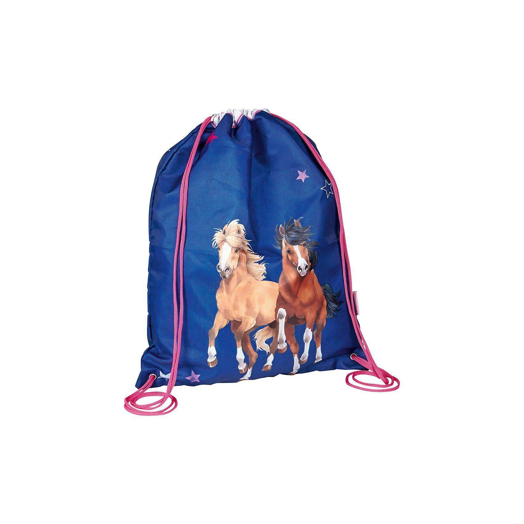 Spiegelburg Pferdefreunde: Sportbeutel, blau