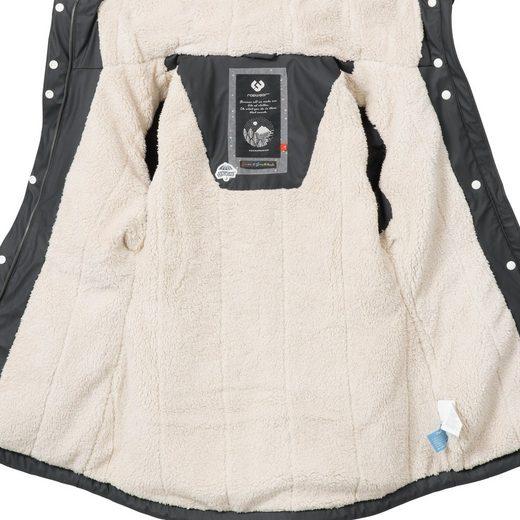 Parka Ragwear Modischer »monadis Black Label« Rainy Wintermantel Outdoor wUHwqg