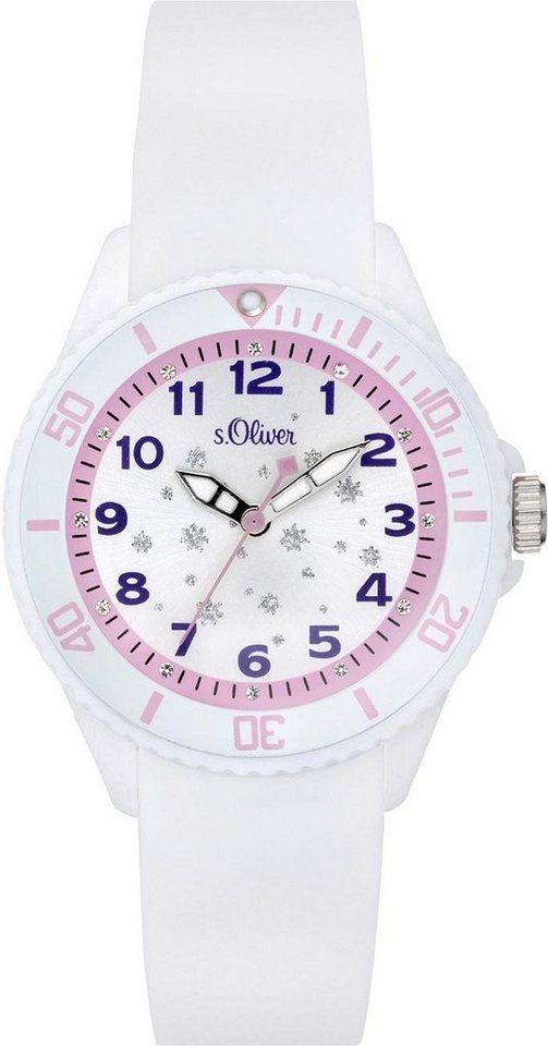 Damen s.Oliver Quarzuhr »SO-3635-PQ« weiß | 04035608036645