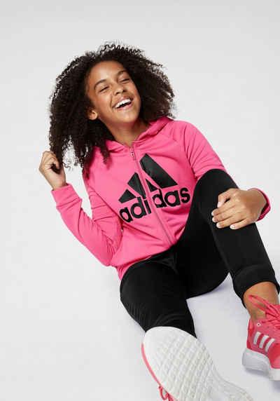 660a84f3c adidas Performance Trainingsanzug »YOUNG GIRLS HOOD POLYESTER TRACKSUIT«  (Set, 2 tlg)