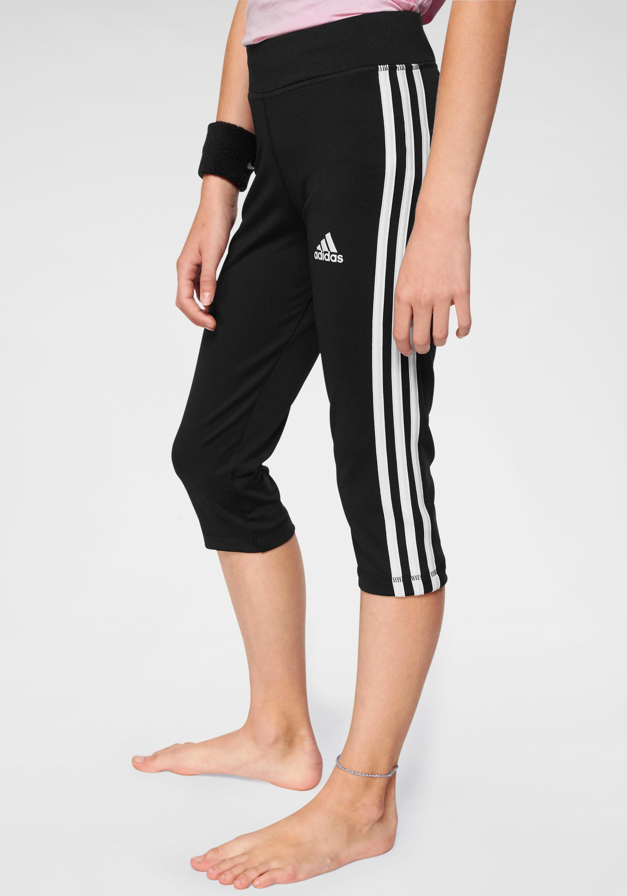 adidas Performance Funktionstights »YOUNG GIRL TRAINING EQUIPMENT 3 STRIPES 34 TIGHT« online kaufen | OTTO