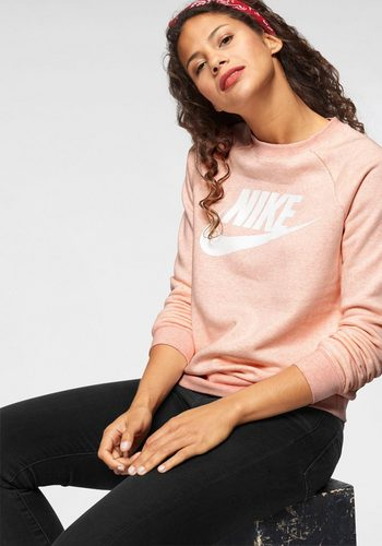 Damen Nike Sportswear Sweatshirt W NSW RALLY CREW HBR rosa | 00883419193460
