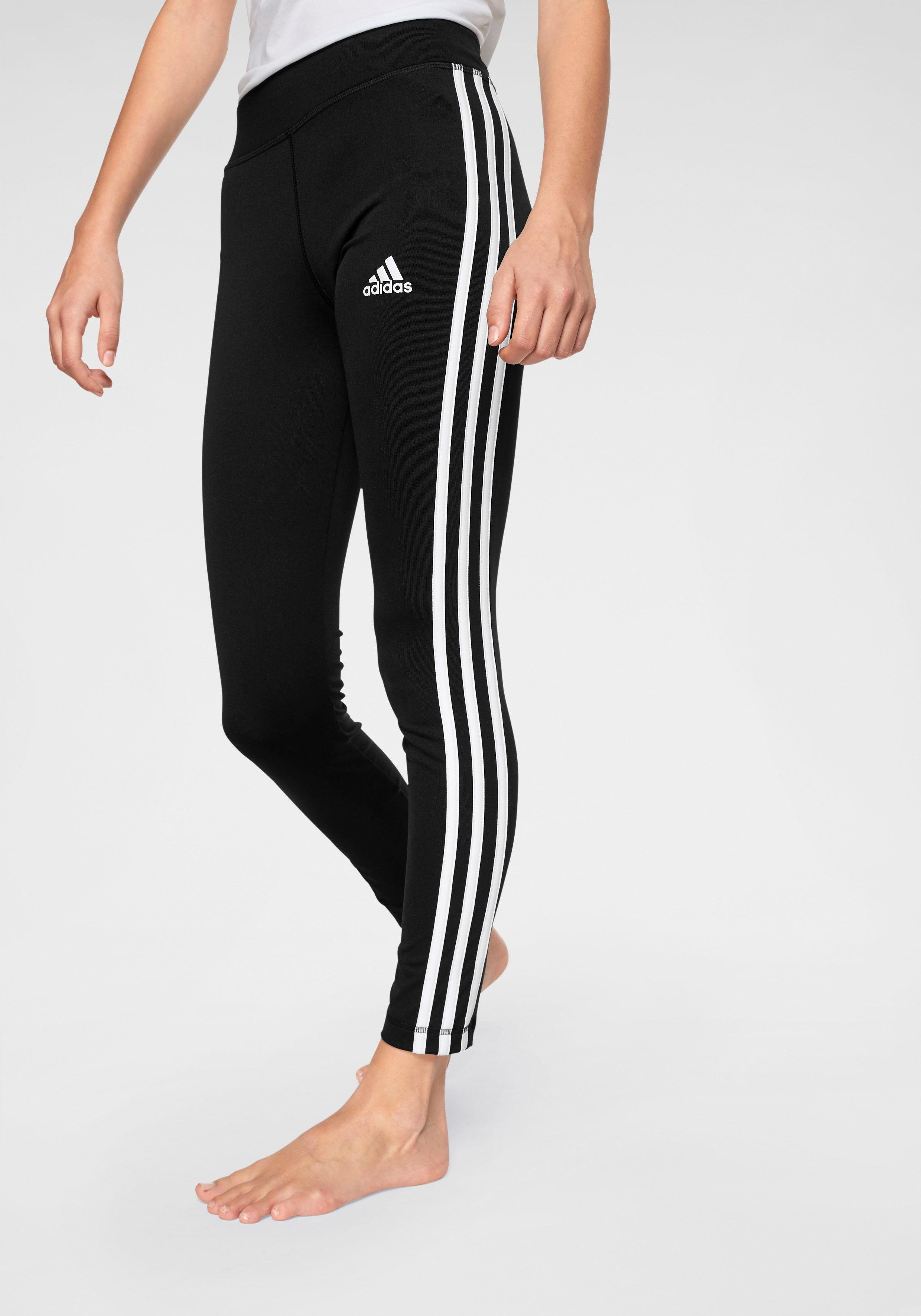 adidas Performance Funktionstights »YOUNG GIRL TRAINING EQUIPMENT 3 STRIPES LONG TIGHT« online kaufen   OTTO