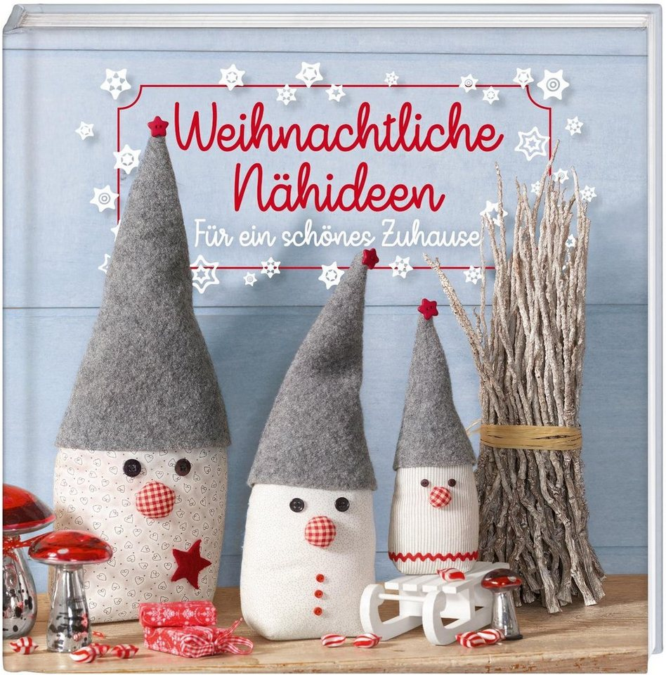 """Buch """"Weihnachtliche Nähideen"""" 64 Seiten kaufen"""