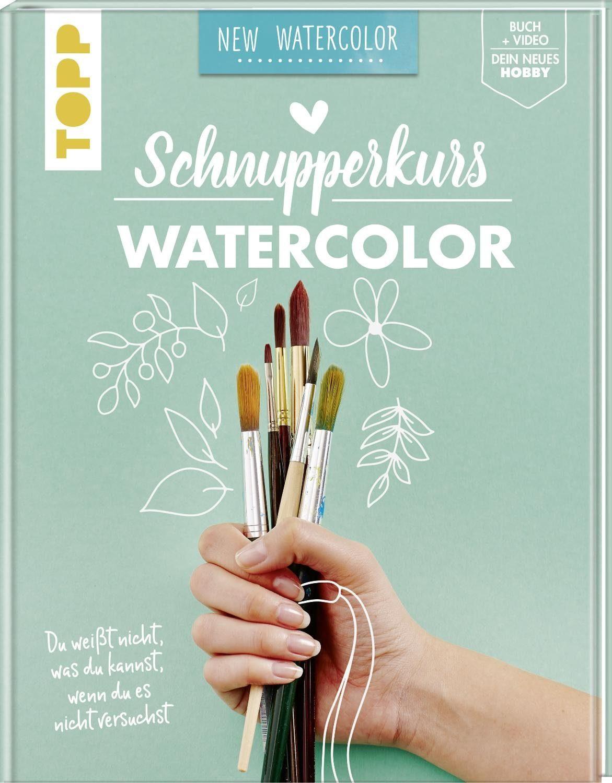 """Topp Buch """"Schnupperkurs - Watercolor"""" 80 Seiten"""