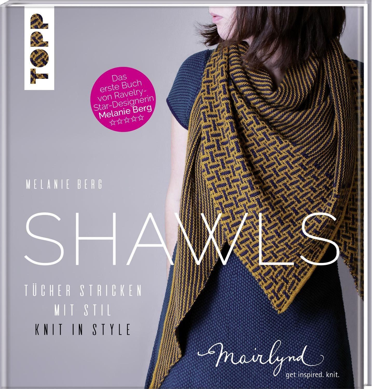 """Topp Buch """"Shawls - Tücher stricken mit Stil"""" 128 Seiten"""