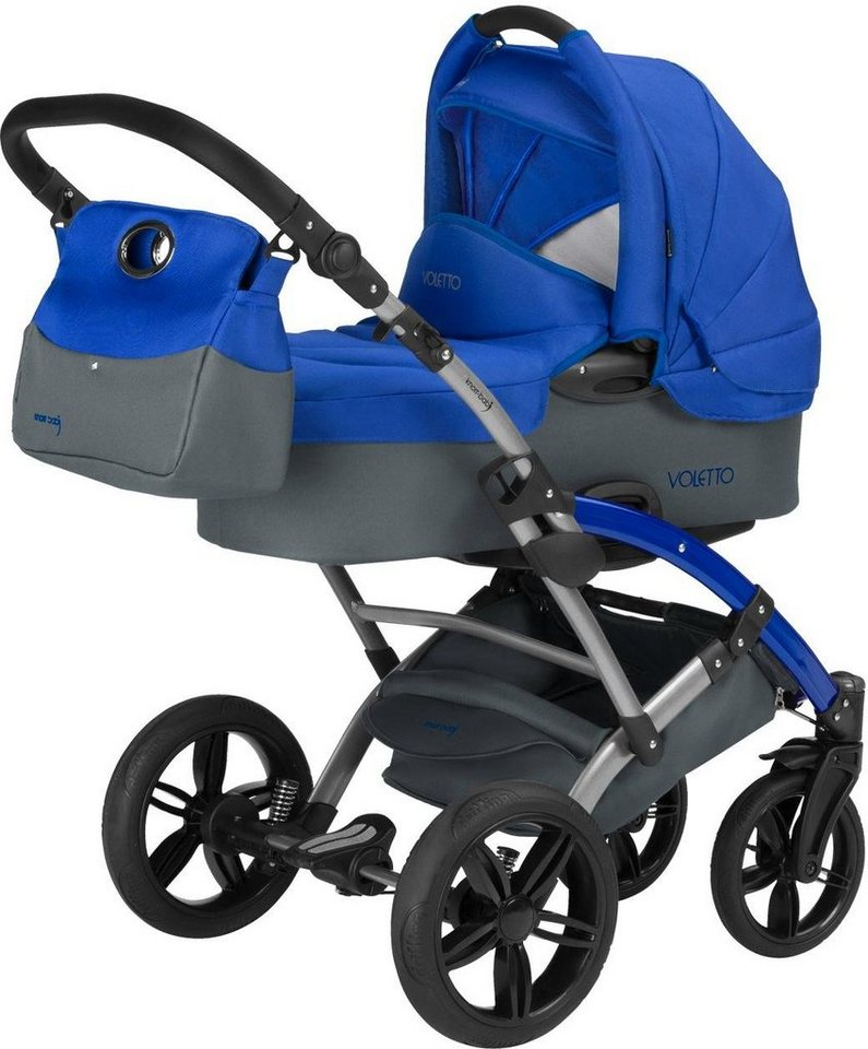 knorr baby kombi kinderwagen set voletto sport grau blau online kaufen otto. Black Bedroom Furniture Sets. Home Design Ideas