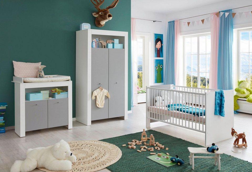 babyzimmer komplettset lissabon 3 tlg bett. Black Bedroom Furniture Sets. Home Design Ideas