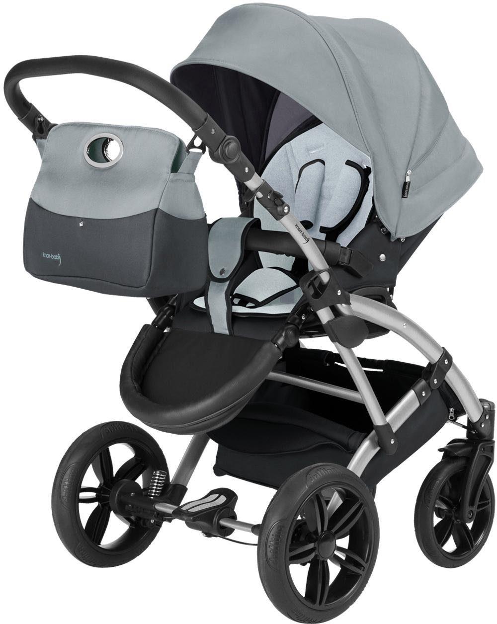 knorr-baby Kombi Kinderwagen Set, »Voletto Sport, grau«