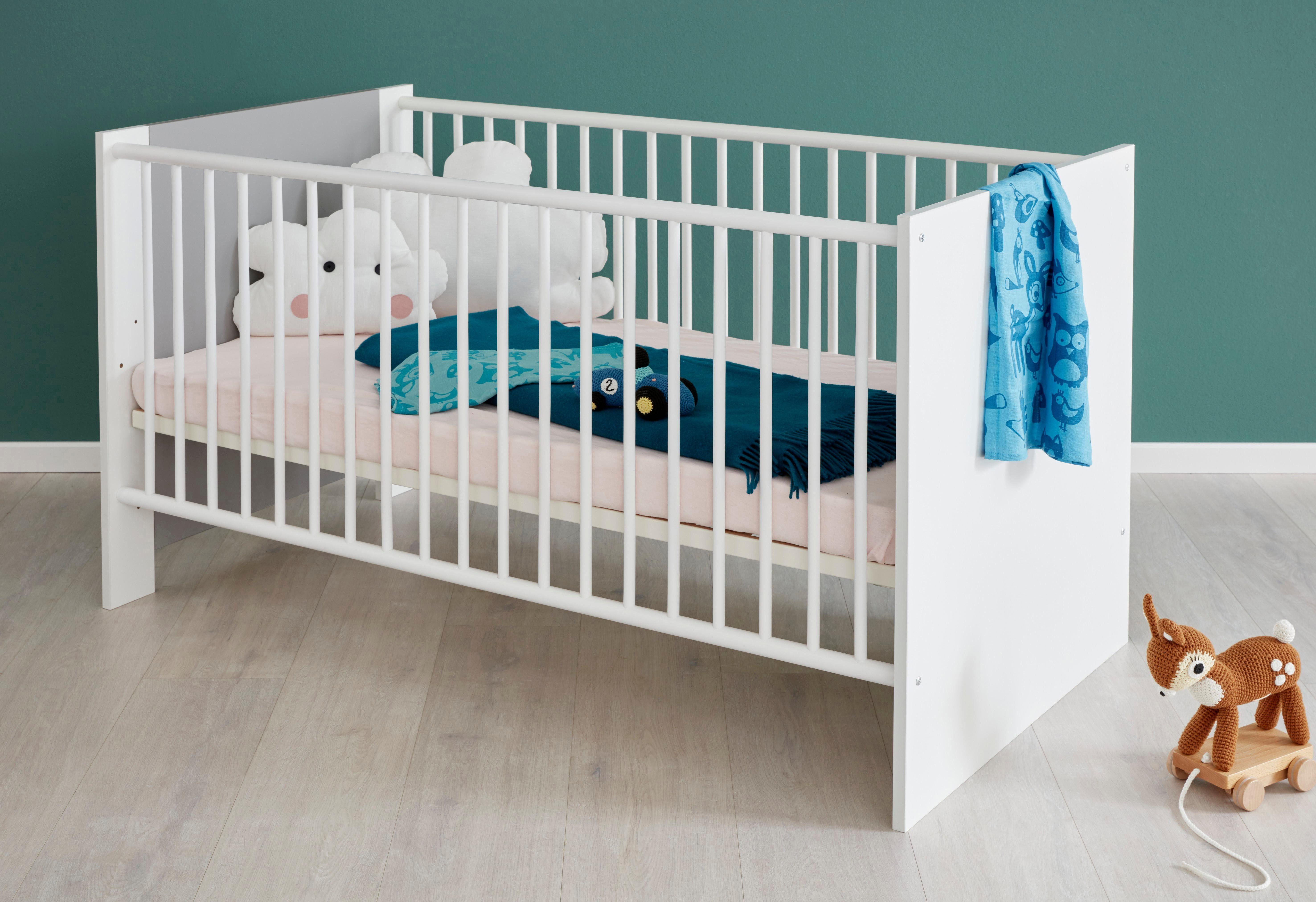 Babybett von roba serie moritz optional mit matratze mamikreisel