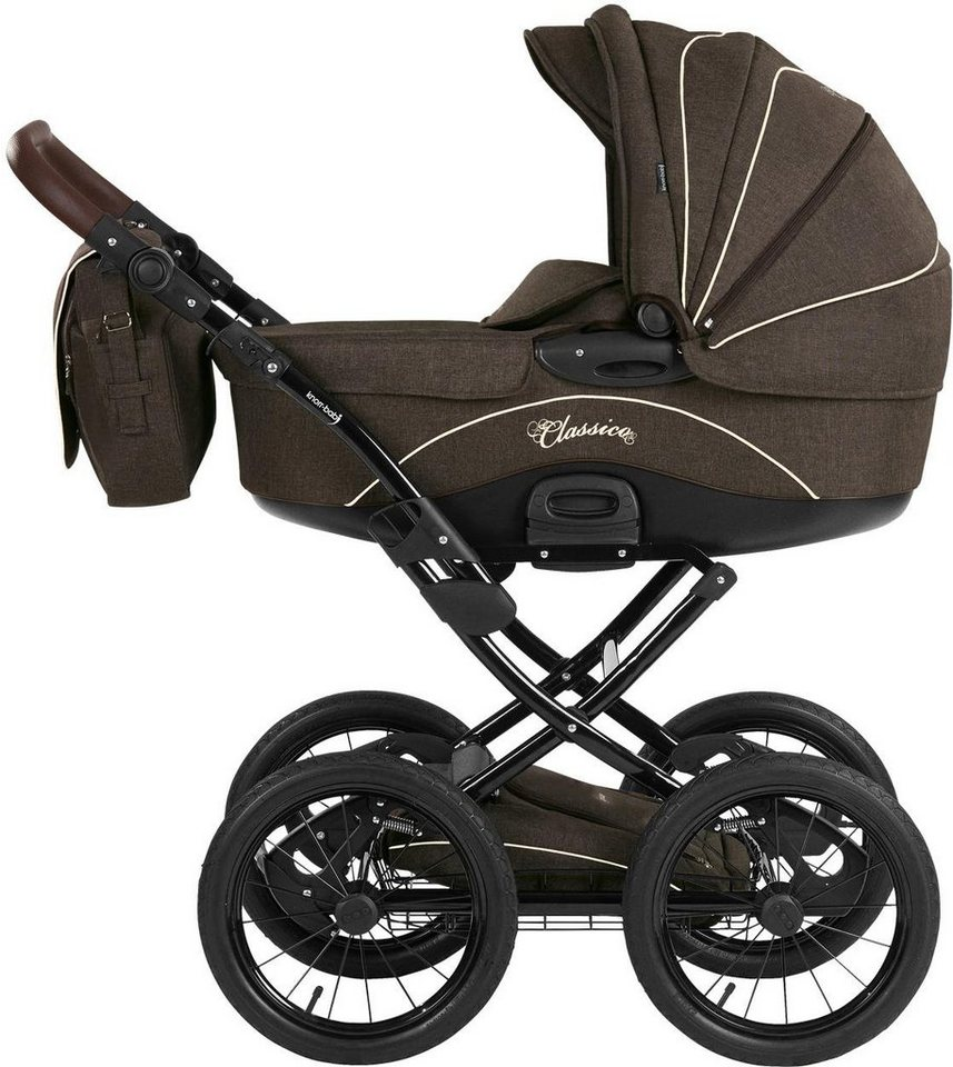 knorr baby kombi kinderwagen set classico braun online. Black Bedroom Furniture Sets. Home Design Ideas