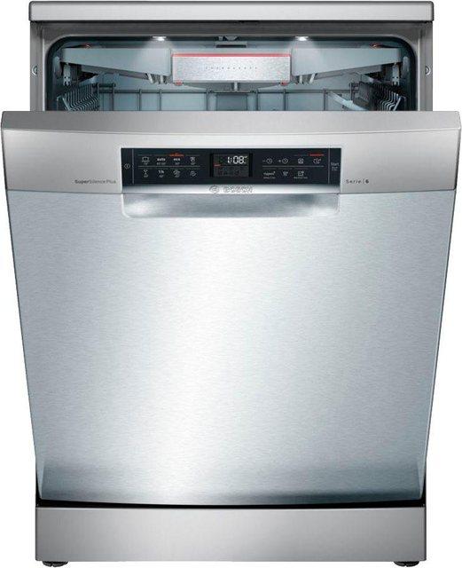Küchengroßgeräte - BOSCH Standgeschirrspüler 6, SMS68TI01E, 9,5 l, 14 Maßgedecke  - Onlineshop OTTO