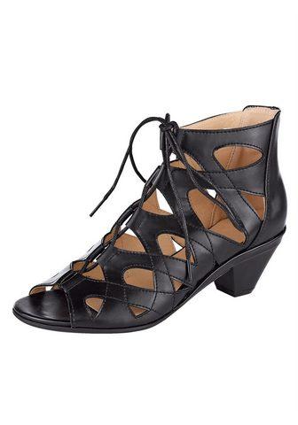 LIVA LOOP Liva Šalikas-mova sandalai su raffinie...
