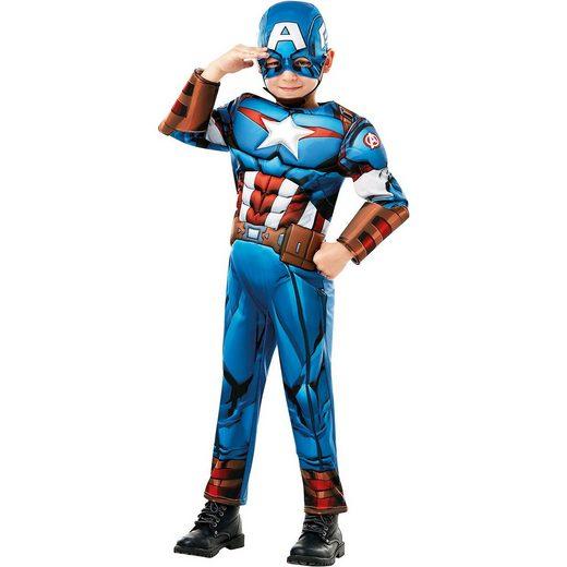 Rubie´s Kostüm Captain America Avengers Assemble Deluxe