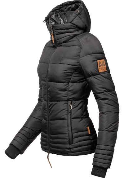 Marikoo Winterjacke »Sole« modisch taillierte Damen Steppjacke für den Winter
