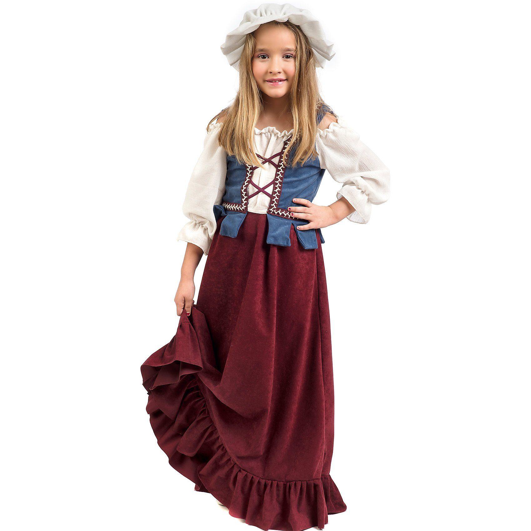 Unisex Limit Kostüm Magd/Bauernmädchen  | 08421796084944
